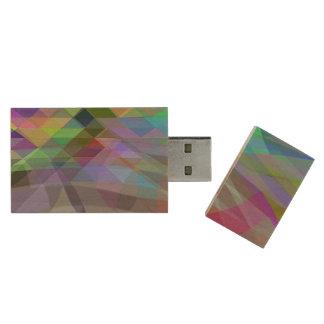 Pendrive prints abstract wood USB flash drive
