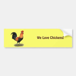Penedesenca Rooster Bumper Sticker