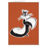 Penelope Grabbing Tail Greeting Card