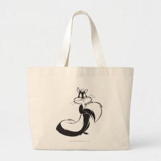 Penelope Grabbing Tail Large Tote Bag