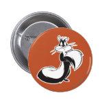 Penelope Grabbing Tail Pinback Button