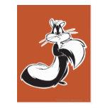 Penelope Grabbing Tail Post Cards