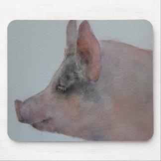 Penelope Pig Mousepad