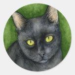 Penelope - The Lucky Black Cat Sticker