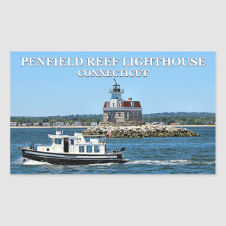 Penfield Reef Lighthouse, Connecticut Stickers