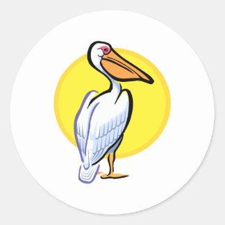 Penga Pelican Classic Round Sticker