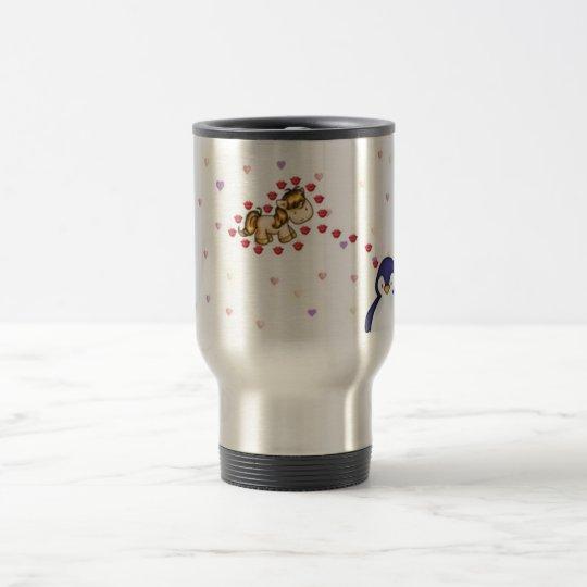 Pengi loves uniko travel mug