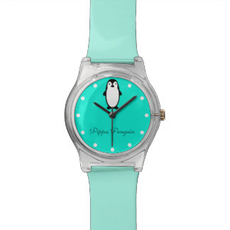 Pengiun | Penguin snowballs mint color Watch