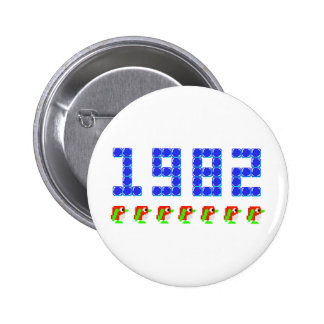 Pengo 1982 Penguins and Ice Cubes Pin