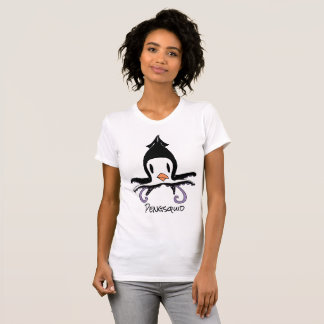 """""""PENGSQUID"""" (penguin+squid) Women's Tshirt"""