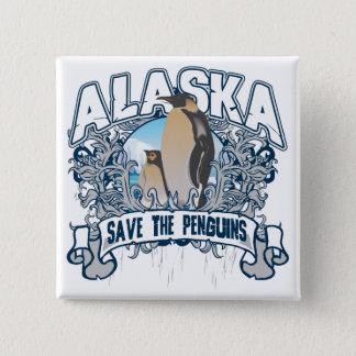 Penguin Alaska 15 Cm Square Badge