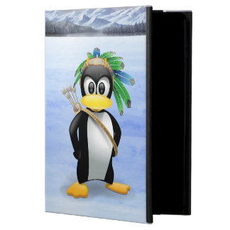 Penguin American Indian cartoon Powis iPad Air 2 Case