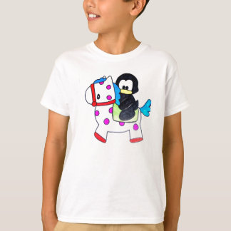 penguin and horse t shirts