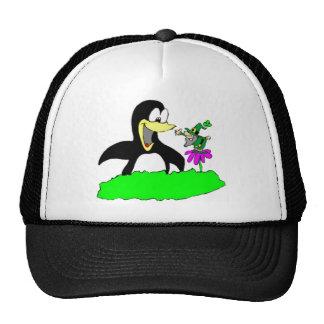 Penguin and Leprechaun Cap