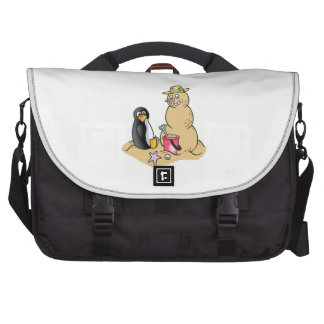 PENGUIN AND SNOWMAN BAGS FOR LAPTOP