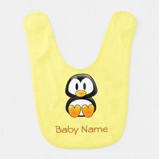 Penguin Baby Bib