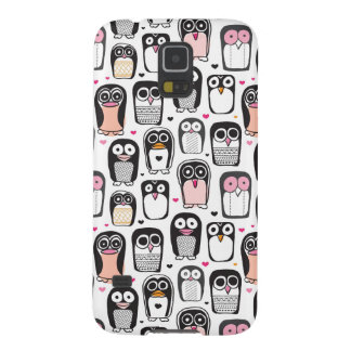 penguin bird illustration background galaxy s5 cover