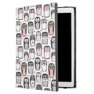 "penguin bird illustration background iPad pro 12.9"" case"