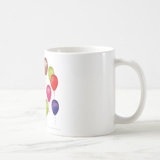 Penguin  Birthday Party Basic White Mug