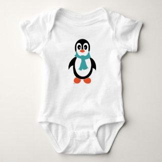 Penguin boy baby bodysuit