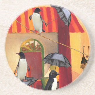 Penguin Cafe Coaster