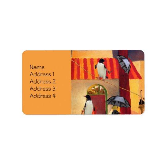 Penguin Cafe Label