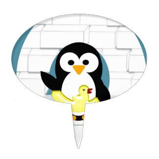 Penguin Cake Pick