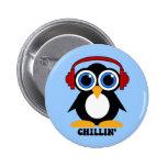 penguin chillin pin