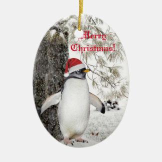 Penguin Christmas Christmas Ornament