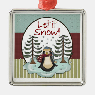 Penguin Christmas Snow Keepsake Gift Christmas Ornament