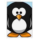 Penguin Close-Up Stationery Note Card