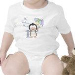 Penguin Cutie- Boy First Birthday Baby Bodysuits
