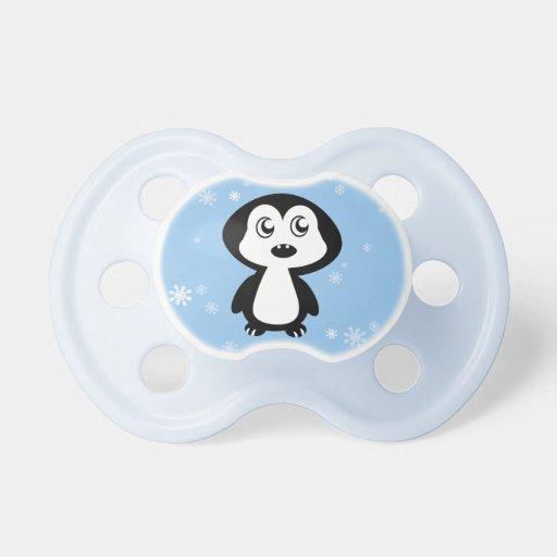 Penguin Baby Pacifiers