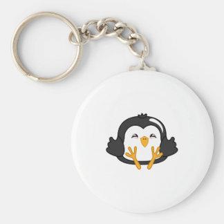 Penguin Dumpling Key Chains
