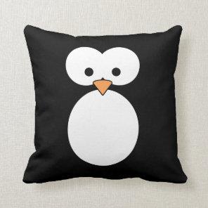 Penguin Eyes Cushion
