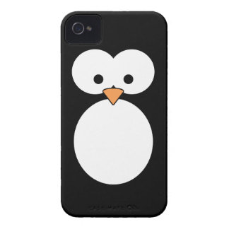 Penguin Eyes iPhone 4 Case-Mate Case