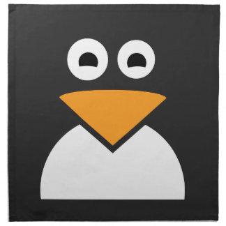 Penguin Face Napkin