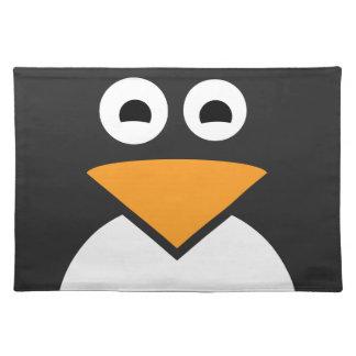 Penguin Face Placemat
