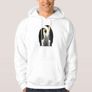 penguin family hoodie