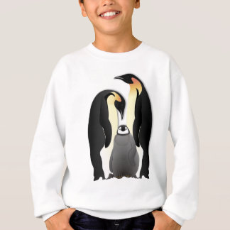 penguin family sweatshirt