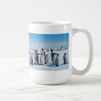 Penguin Gathering Coffee Mug