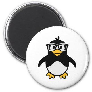 Penguin glasses magnets