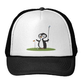 Penguin Golf Trucker Hat