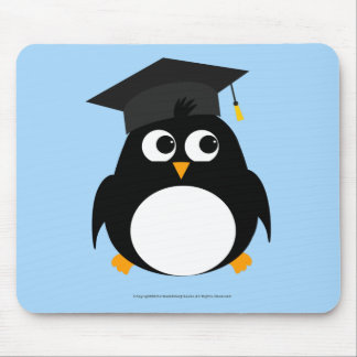 Penguin Graduation Design - Mousepad