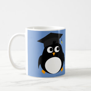 Penguin Graduation Design - Personalised Mug