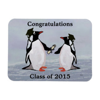 Penguin Graduation Gift Magnet