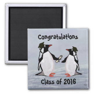 Penguin Graduation Magnets