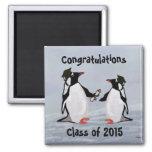 Penguin Graduation Magnets