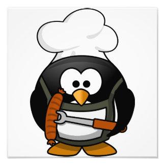 Penguin Grill Art Photo