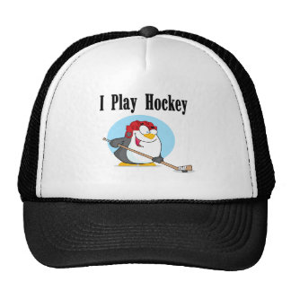 Penguin Hockey Tshirts and Gifts Cap